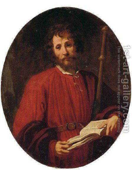 Saint James the Greater by Jacopo Vignali - Reproduction Oil Painting