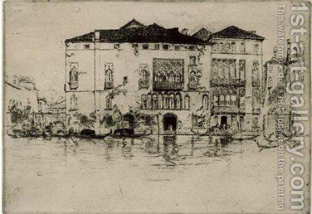 The Palaces by James Abbott McNeill Whistler - Reproduction Oil Painting