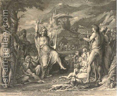 Orpheus by James Barry - Reproduction Oil Painting
