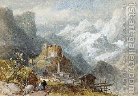 Mount Cenis by James Burrell Smith - Reproduction Oil Painting