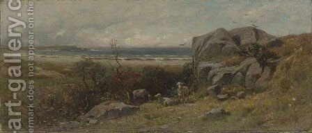 In Marblehead Neck, Massachusetts by James David Smillie - Reproduction Oil Painting
