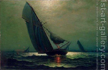 Evening Sails by James Gale Tyler - Reproduction Oil Painting