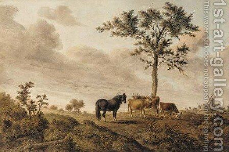 Near Colnery by James George Zobel - Reproduction Oil Painting