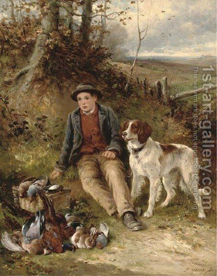 The young beater by James Hardy Jnr - Reproduction Oil Painting