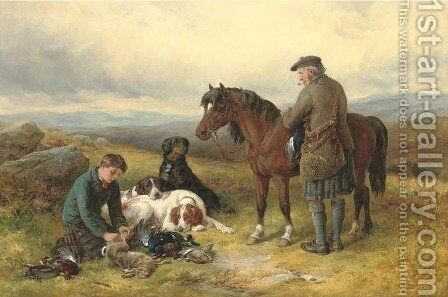 Loading Up by James Hardy Jnr - Reproduction Oil Painting