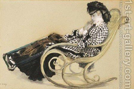 Study for 'The Last Evening' by James Jacques Joseph Tissot - Reproduction Oil Painting