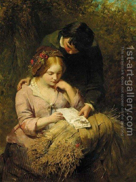 The Ballad by James John Hill - Reproduction Oil Painting