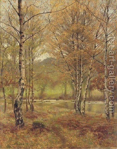Bettwys-y-Coed, Wales by James Thomas Watts - Reproduction Oil Painting
