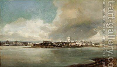 View of Shoreham by James Webb - Reproduction Oil Painting