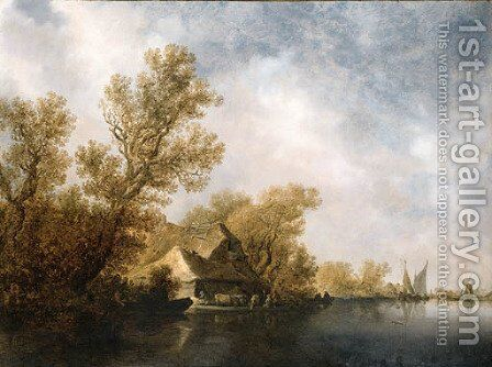 Untitled 4 by Jan van Goyen - Reproduction Oil Painting