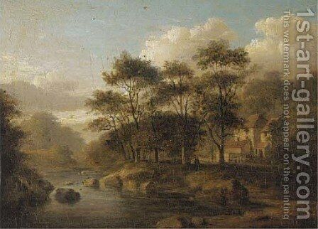 Mill at Woodhall by Jane Nasmyth - Reproduction Oil Painting