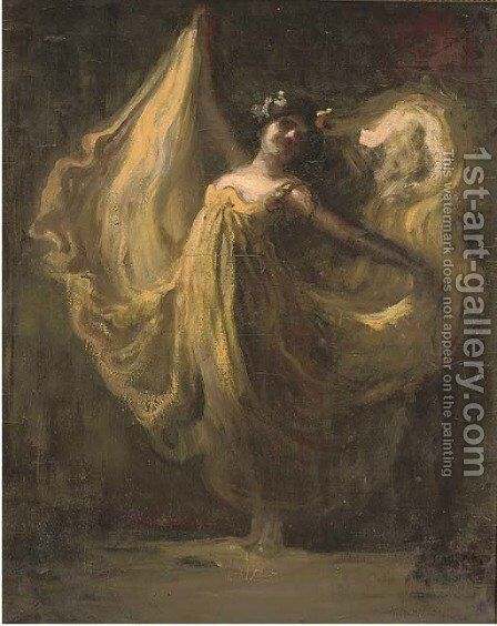 The dancer by Janos Thorma - Reproduction Oil Painting