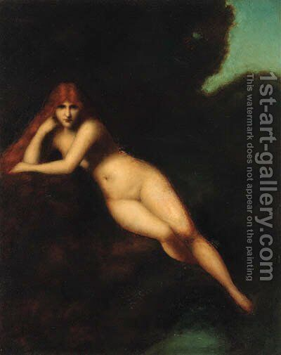 Untitled by Jean-Jacques Henner - Reproduction Oil Painting
