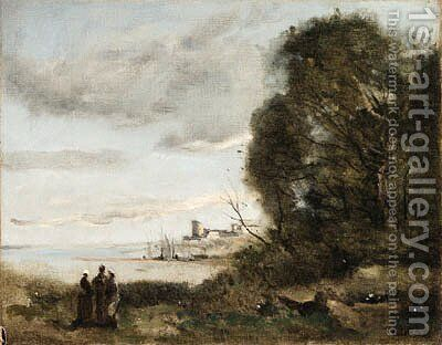 Untitled by Jean-Baptiste-Camille Corot - Reproduction Oil Painting