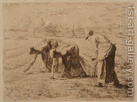 The Gleaners by Jean-Francois Millet - Reproduction Oil Painting