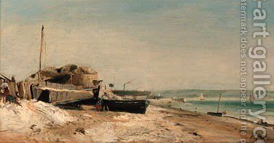 Sainte-Adresse 2 by Johan Barthold Jongkind - Reproduction Oil Painting