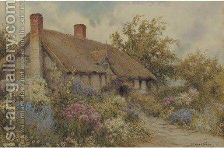 A summer afternoon by J.A. Lynas Gray - Reproduction Oil Painting