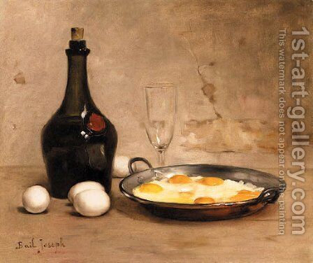 Still Life by Claude Joseph Bail - Reproduction Oil Painting