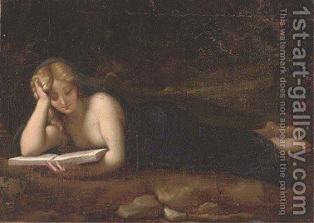 The Penitent Magdalen by (after) Adriaen Van Der Werff - Reproduction Oil Painting