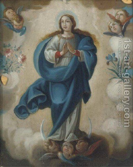 The Immaculate Conception 2 by Bartolome Esteban Murillo - Reproduction Oil Painting
