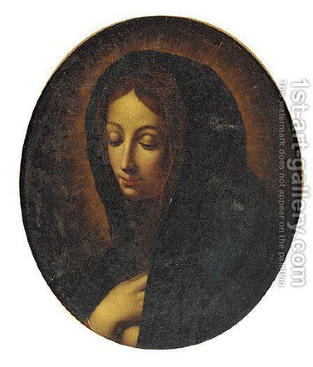 The Virgin Mary by (after) Carlo Dolci - Reproduction Oil Painting