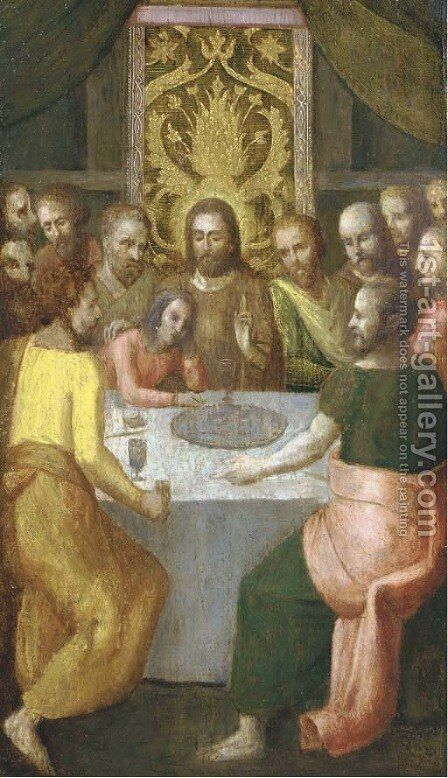 The Last Supper by (after) Denys Calvaert - Reproduction Oil Painting