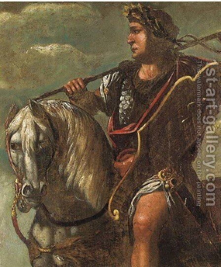 A Roman Officer by (after) Francesco Del Cossa - Reproduction Oil Painting
