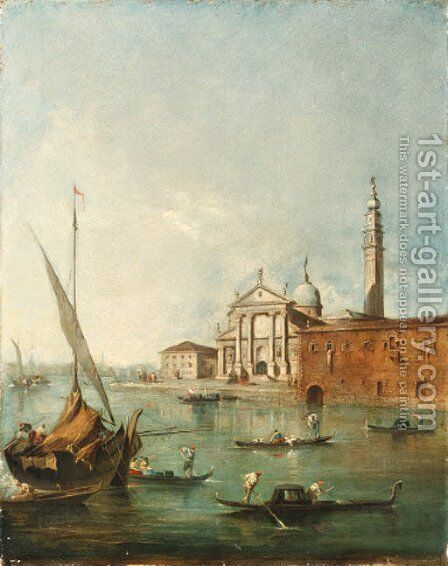 Untitled by (after) Francesco Guardi - Reproduction Oil Painting