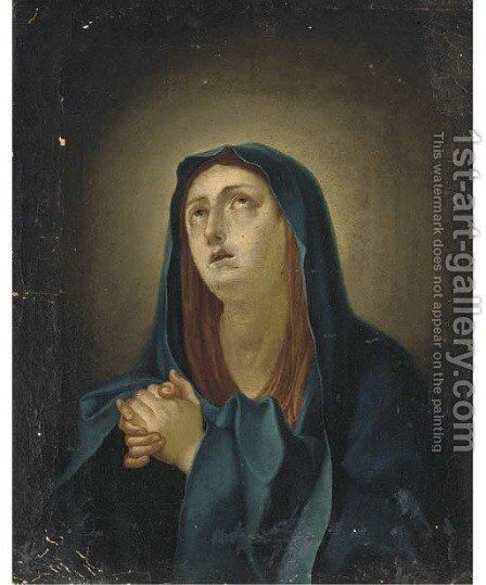 The Penitent Magdalen by (after) Giovanni Battiata Salvi, Il Sassoferrato - Reproduction Oil Painting
