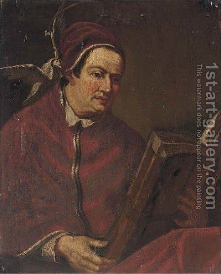 Saint Gregory the Great by Giovanni Francesco Guercino (BARBIERI) - Reproduction Oil Painting
