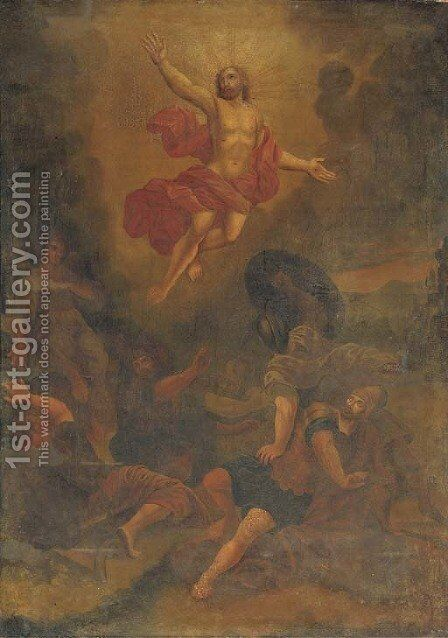 The Resurrection 2 by (after) Guido Reni - Reproduction Oil Painting