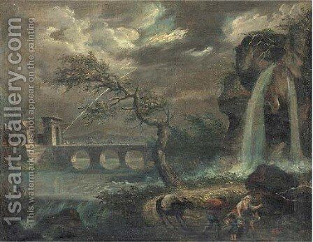 The tempest by (after) John Martin - Reproduction Oil Painting