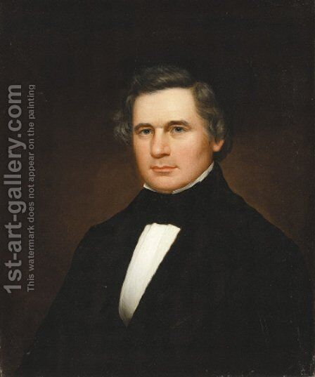 Portrait of Charles Moore by Martin Johnson Heade - Reproduction Oil Painting