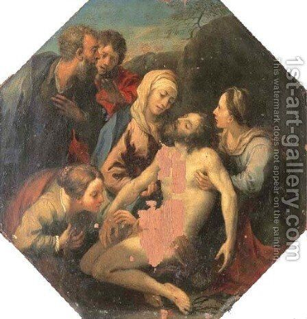 The Pieta by Martin Knoller - Reproduction Oil Painting