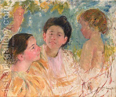 Untitled by Mary Cassatt - Reproduction Oil Painting