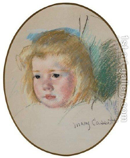 Sara by Mary Cassatt - Reproduction Oil Painting