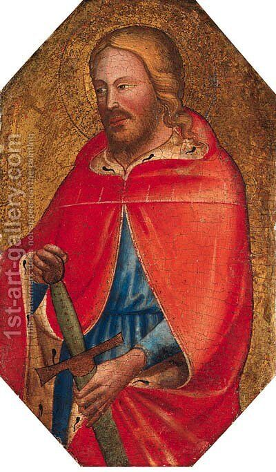 Saint Paul by Master Of Sant'Ivo - Reproduction Oil Painting