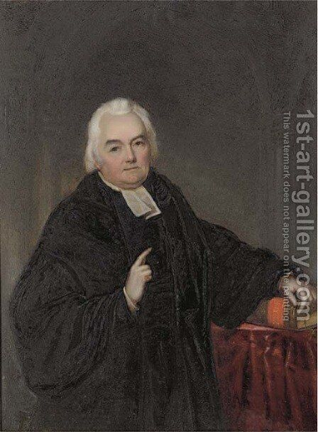 Portrait of the venerable Charles Daubeny, L.L.D., Archdeacon of Sarum by Maul And Paulbank - Reproduction Oil Painting