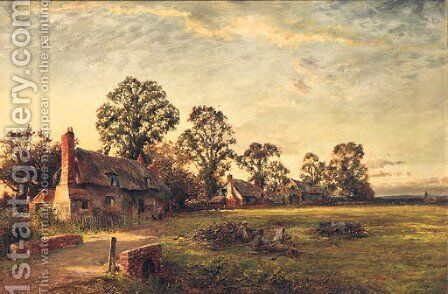A Summer's Evening by Milton Stove - Reproduction Oil Painting