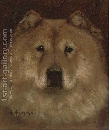 Chimmo the Chow Chow by Monica Gray - Reproduction Oil Painting