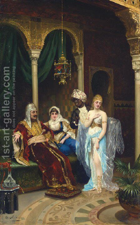 The Rhamazan Bride by Moritz Stifter - Reproduction Oil Painting
