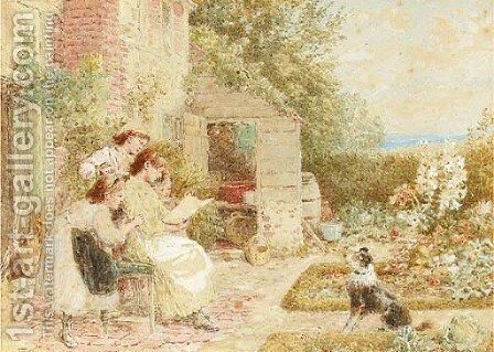 The picture book by Myles Birket Foster - Reproduction Oil Painting