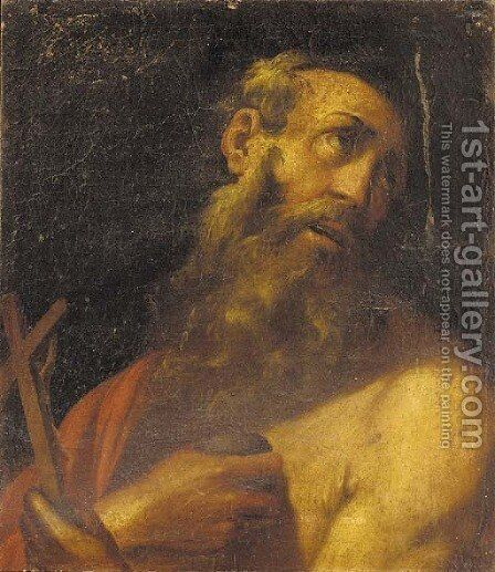 Saint Jerome 3 by Neapolitan School - Reproduction Oil Painting