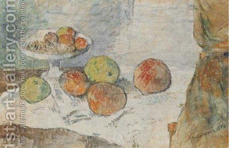 Nature morte au compotier by Paul Gauguin - Reproduction Oil Painting