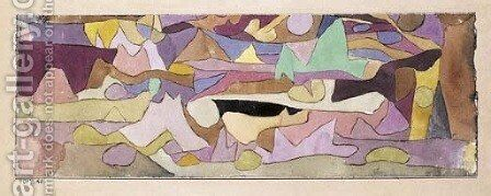 Ohne Titel by Paul Klee - Reproduction Oil Painting