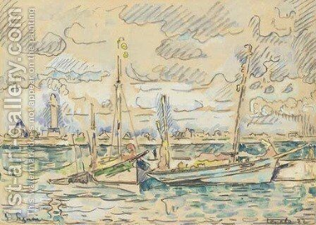 Lomalo by Paul Signac - Reproduction Oil Painting