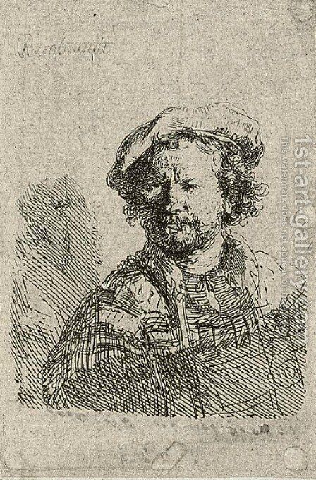 An album by Rembrandt - Reproduction Oil Painting