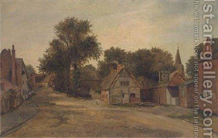 Leire, Leicestershire by (after) Thomas James Judkin - Reproduction Oil Painting