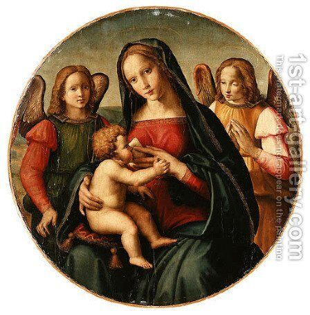 Untitled by Domenico Ghirlandaio - Reproduction Oil Painting