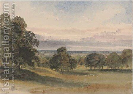 Ampthill, Bedfordshire by Harriet Cheney - Reproduction Oil Painting